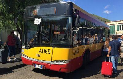 EAV BUS - Rozpis autobusů veřejné dopravy na Ischii