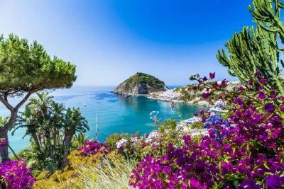 Ostrov Ischia a Neapolský záliv
